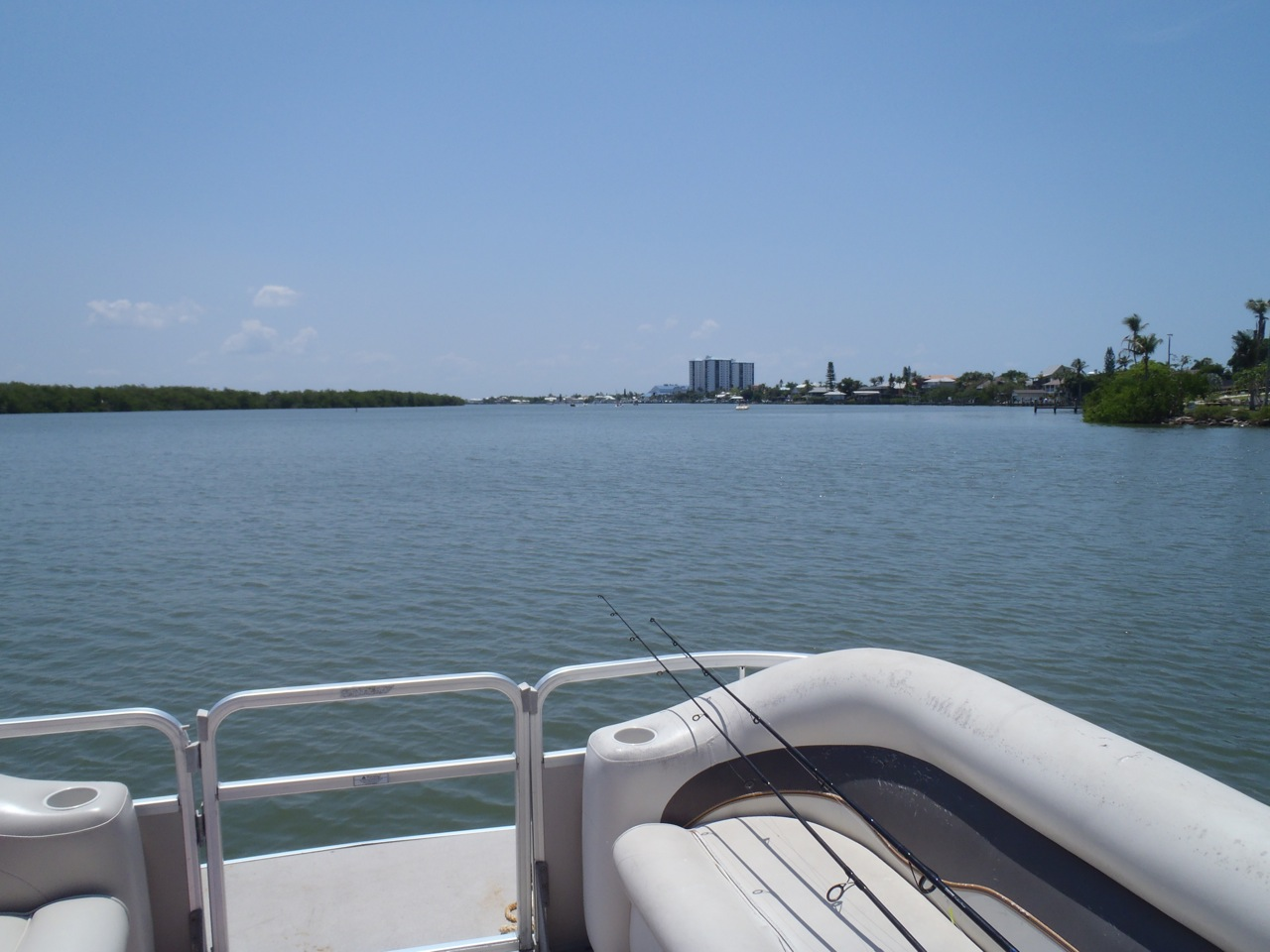 View From The Al Pontoon Boat