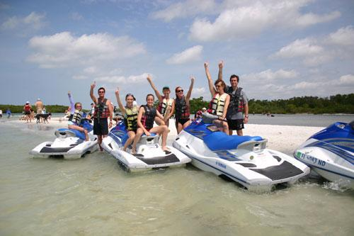 Holiday Watersports In Fort Myers Beach Florida Boat Rentals